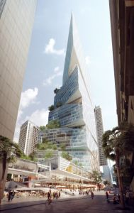 54245443c07a80c9ea000079 3xn-wins-commission-to-design-200-meter-tower-in-sydney 50 Bridge St Tower-631x1000