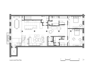 550ccd76e58eceb270000220 Tribeca-loft-andrew-franz-architect Tribecaloft Andrewfranzarchitect Lower-level-floor-plan