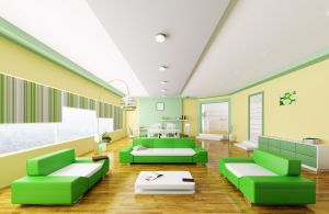 Clean-and-fresh-interior-design-simple-green