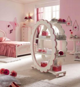 Awesome-coloful-kids-bedroom-ideas-with-atrractive-shelves-design-the-middle-room-as-well-pink-white-pai