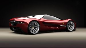 Ferrari Concept Wallpaper 2560x1440