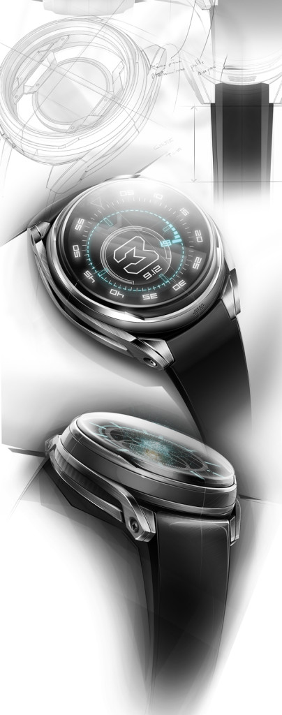 A D E Holographic watch concept